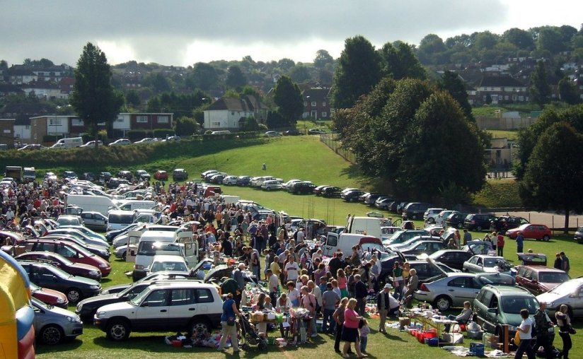 Car boot sale - Saving on school uniform costs