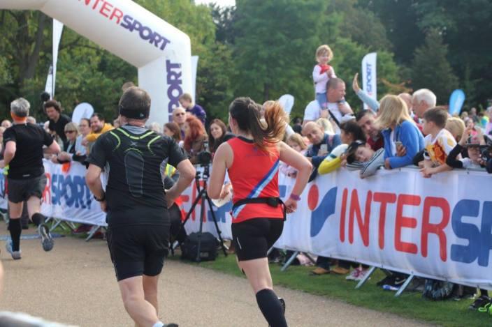 finishing the Run Reigate 10k