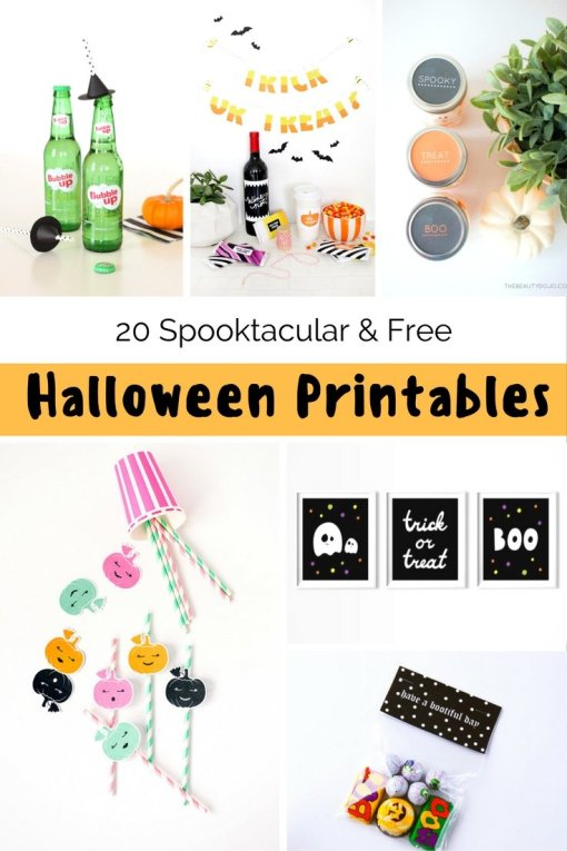 I love a freebie and I ran out of time this year so here are some of the best Halloween Printables, courtesy of some of the best bloggers around.