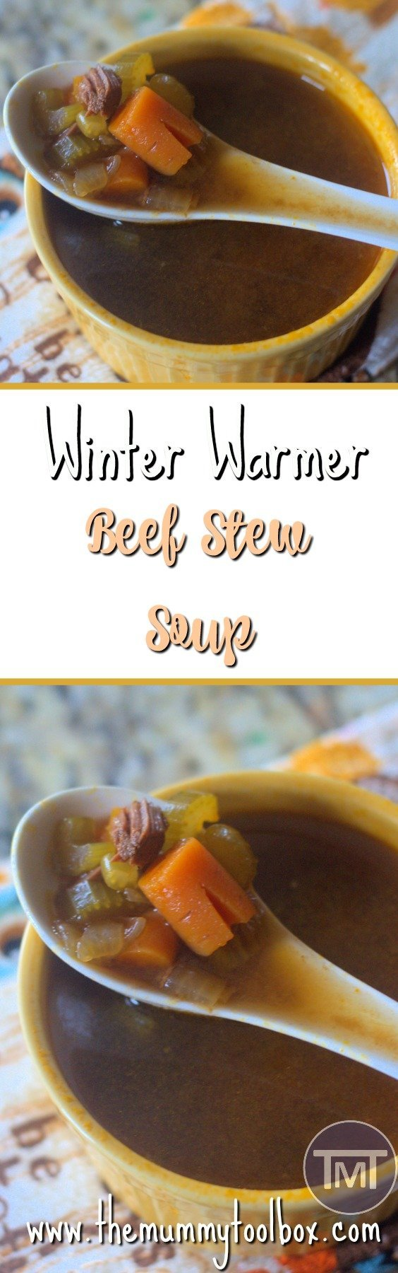Winter is coming and as a cold person I need to warm myself up from the inside, this is where this delicious beef stew soup comes in, perfect for the cold!