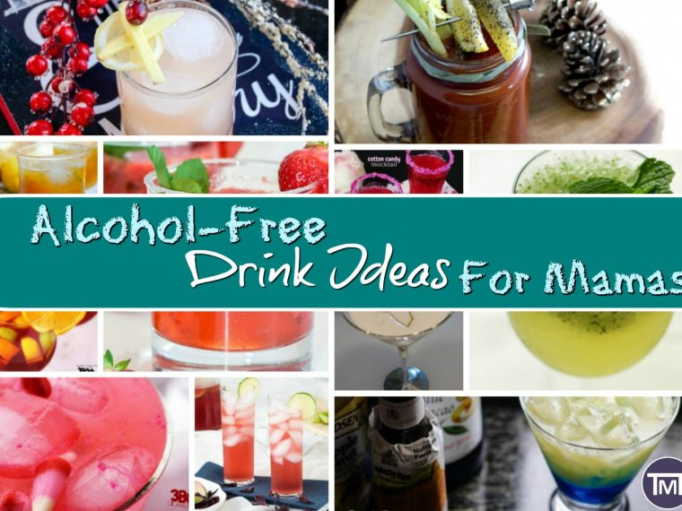 Ah pregnancy, the time of growth and relaxation, but not booze. In case you are feeling a little left out, here are some alcohol-free drinks for the mamas.