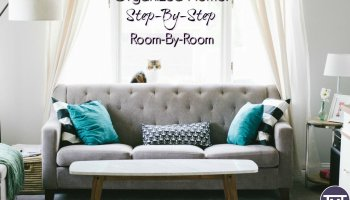 organized home step by step room by room feature