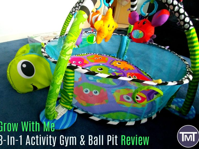 grow with me 3 in 1 activity gym and ball pit review