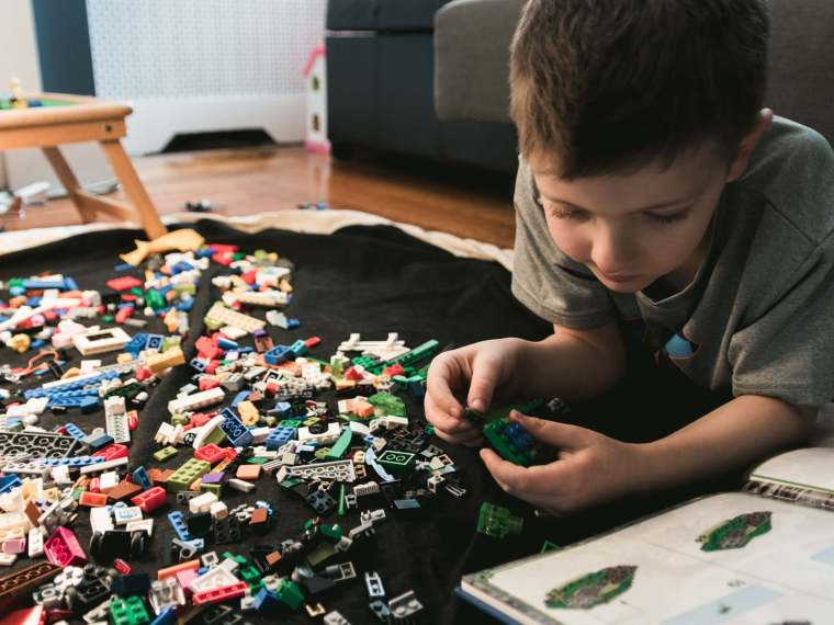 30-Day Lego Building Challenge Printable