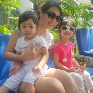 Motherhood means - Discovering the best sides of me, some of which I do not even know exist for all the years I lived! Motherhood also means an amazing journey my little ones have given me.- Corrine