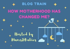 Motherhood Blog Train Badge