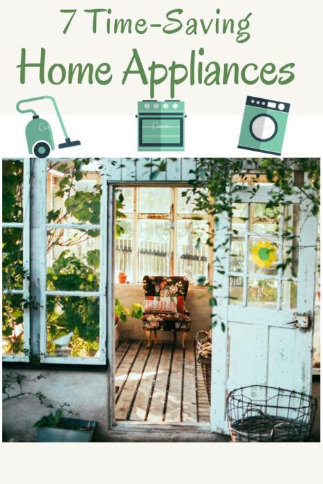 7 Time-Saving Home Appliances