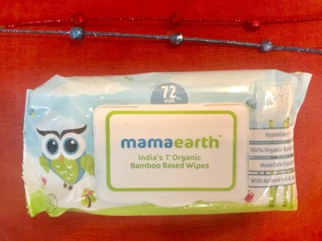 Mamaearth Organic Bamboo Based Wipes Review