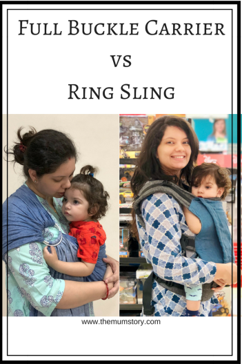 Baby Carrier Comparisons : Soul Full Buckle Carrier versus Ring Sling