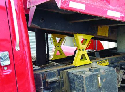 Use Emerson wedge locks to safely lock up bodies and beds on dump trucks, roll-off s and trash trucks. (Photo provided)