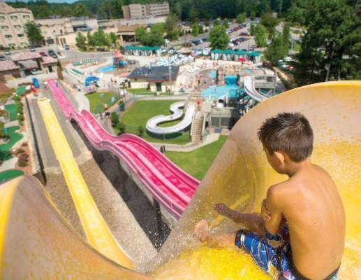 "Patrons of the average water park, such as Chula Vista Resort at the ""Waterpark Capital of the World,"" Wisconsin Dells, go through 5,000 towels a day. The town keeps 3,820 inner tubes on hand to enhance the waterslide experience. (Photo provided)"