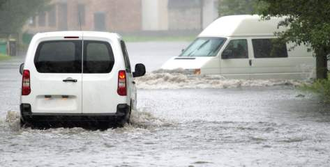 Scenes like this one should become extremely rare in light of the Elizabeth's pending capacity to store and then treat any flood water. (Shutterstock photo)