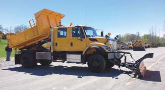 Switch-N-Go truck body systems provide 50-degree dumping ability and ground-level loading and unloading. (Photo provided)