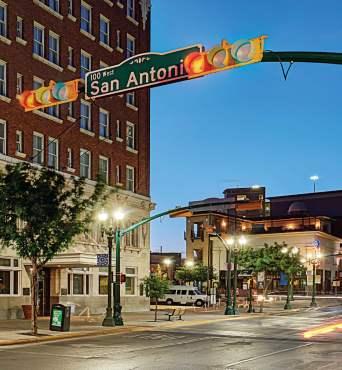 San Antonio St in El Paso TX