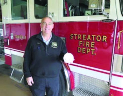When Chief Gary Bird assumed leadership of the Streator Fire Department last year, the organization was responding to an above-average number of structure fires for a community of its size. Meetings with firefighters and community stakeholders led to the creation of a risk reduction program to address the problem. (Photo provided)
