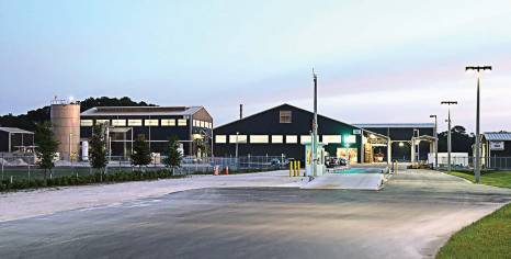 Anuvia's facility in Zellwood, Fla., started production in April. (Photo provided)