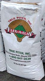 Flex-A-Clay is another product offered by True Pitch. It is a specifically formulated and processed dry soil composition that creates a safe playing field with great traction.