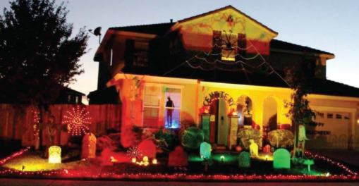 A local house in Anoka gets in the Halloween spirit. Anoka's Halloween legacy dates back to 1920 when it launched a weeklong community-wide celebration to lessen pranks. (Photo provided)