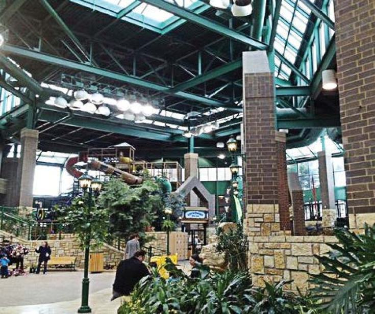 Edinborough Park is a popular indoor park, which is always sunny and 70 degrees all year-round. (Provided by city of Edina)