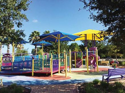 Ormond Beach Limitless Playground came about after city officials were approached by parents requesting expanded programming for their children with special needs. Through that they saw the opportunity for an limitless park. (Provided by city of Ormond Beach)