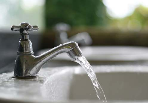 Technicians at one time had to visit residential homes in zones to test water, oft en having to wait until someone was at home. The use of water sampling stations eliminates that middleman. (Shutterstock)