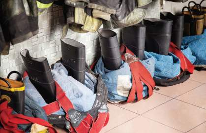 Grants are available to help fire service agencies maintain safe staffing or purchase needed supplies. The Staffing for Adequate Fire and Emergency Response, or SAFER, grant is sought by departments across the country to assist with funding staffing for a finite period of time. (Shutterstock.com)