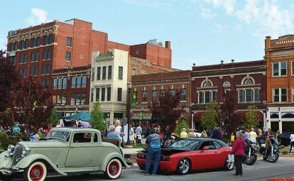 Kokomo's downtown area celebrates First Fridays with a wide variety of themes, from the popular Strawberry Festival to Artsapalooza. Every event brings visitors together to have a good time. (Photo provided)