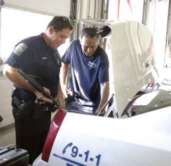 Vehicle maintenance at regular intervals is mandatory in Wilmington, N.C., to preserve the vehicular quality; additionally, employees can only drive as far as a 15-mile radius outside city limits. (Photo provided)