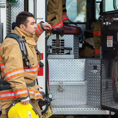 According to the National Volunteer Fire Council, increased time demands, more rigorous training requirements and the proliferation of two-income families whose members do not have time to volunteer are major factors contributing to recruitment challenges faced by fire departments. (Photo provided by National Volunteer Fire Council)