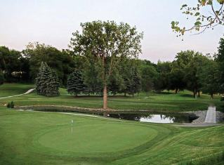 Pictured is the sixth hole at the Napoleon golf course in Napoleon, Ohio.(Photo provided by Tony Cutter)