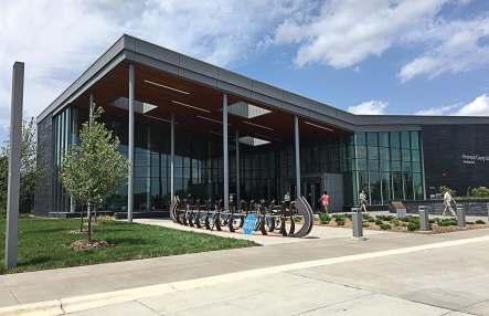 The brand new Hennepin County Library is located in Brooklyn Park. (Photo provided by Brooklyn Park, Minn.)