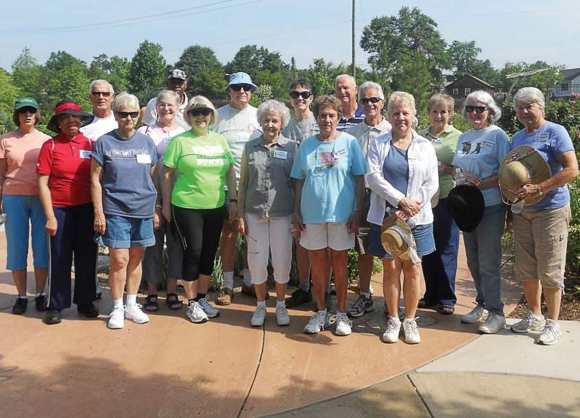 The seniors hiking club has been present in the Greensboro community for over 15 years and is one of the most successful clubs at the senior center. (Photo provided)