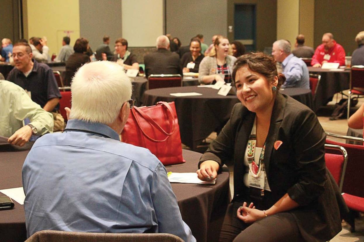 Participants take part in a speed-coaching session at 2016 annual ICMA Conference. (Photo provided by ICMA)