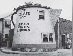 The Coffee Pot, built in 1927 a mile west of Bedford, Pa., was one of hundreds of roadside attractions designed to entice travelers along Lincoln Highway, the country's first improved transcontinental artery. (Photo provided)