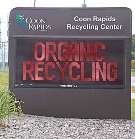 Coon Rapids, Minn.'s, extensive recycling program is one of the factors for which it was recognized, receiving the American Public Works Association's Sustainability Practices Award in 2016. (Photo provided)