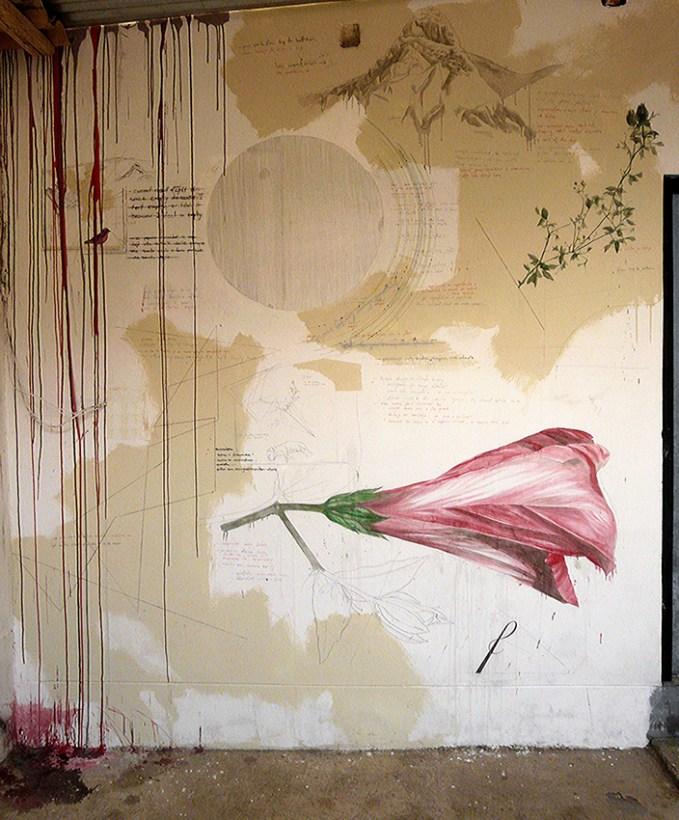 Yangas nr Lima mural Matt Collier 2015