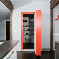 Flush Mount Cabinet Door Package Hidden Door