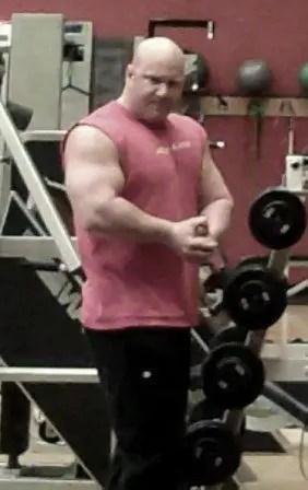 Jason Stallworth in the gym