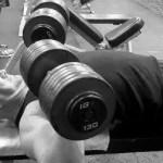 130 lb Dumbbell Press | Chest Workout | Jason Stallworth | TheMuscleProgram.com