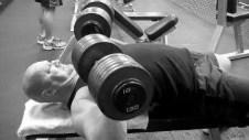 130 lb Dumbbell Press   Chest Workout   Jason Stallworth   TheMuscleProgram.com