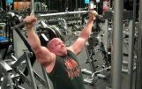 Lat Pulldowns Extended   Back Workout   Back Exercises   Jason Stallworth   TheMuscleProgram.com