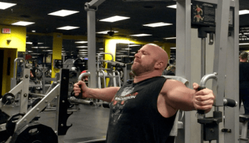 Chest Exercise - Flyes out Jason Stallworth