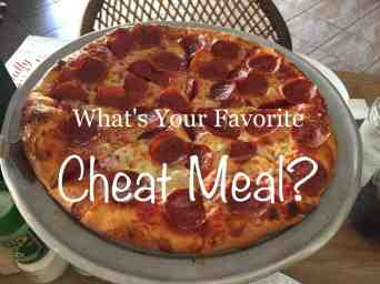 Pizza Favorite Cheat Meal