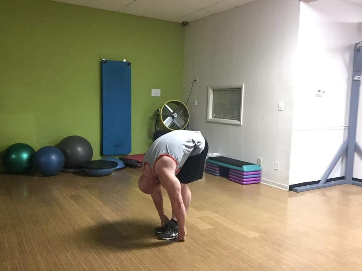 Strength Lower Back and Hamstrings Toe Touch