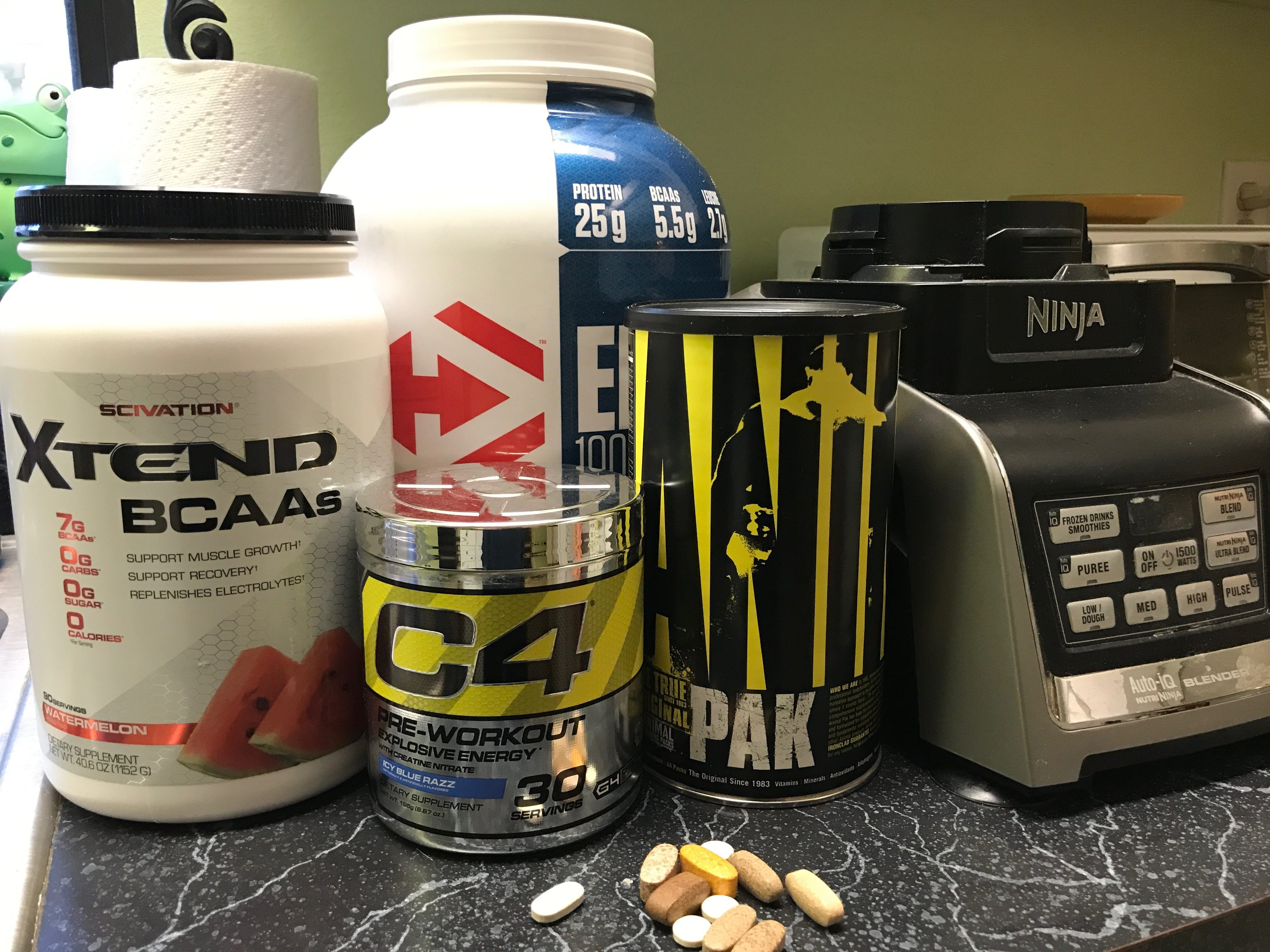 May 2017 Performance and Recovery Supplement Stack