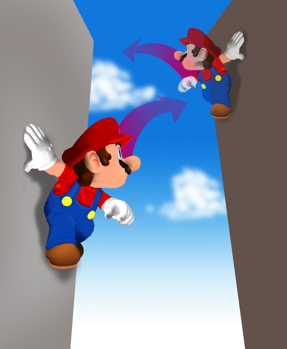 Wallpaper Falling Off Wall Tmk Downloads Images Super Mario Sunshine Gcn
