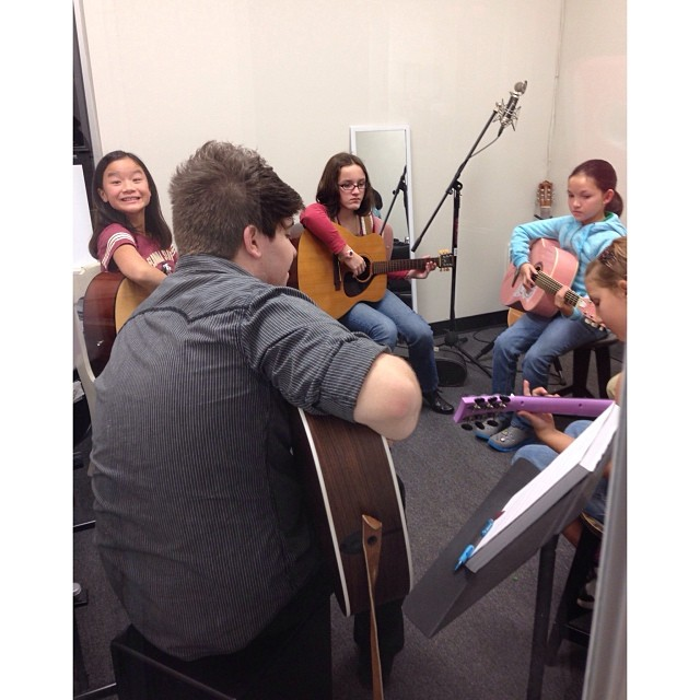 Orlando Beginning Group Guitar class!