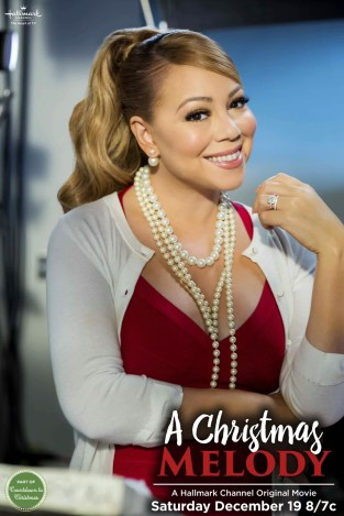 Mariah Carey A Christmas Melody Hallmark Movie Rob Christie Jen Lilley Jingle Bells Tinsel Time