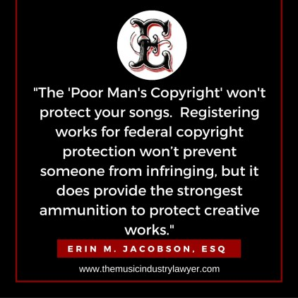 ESQ - poor mans copyright
