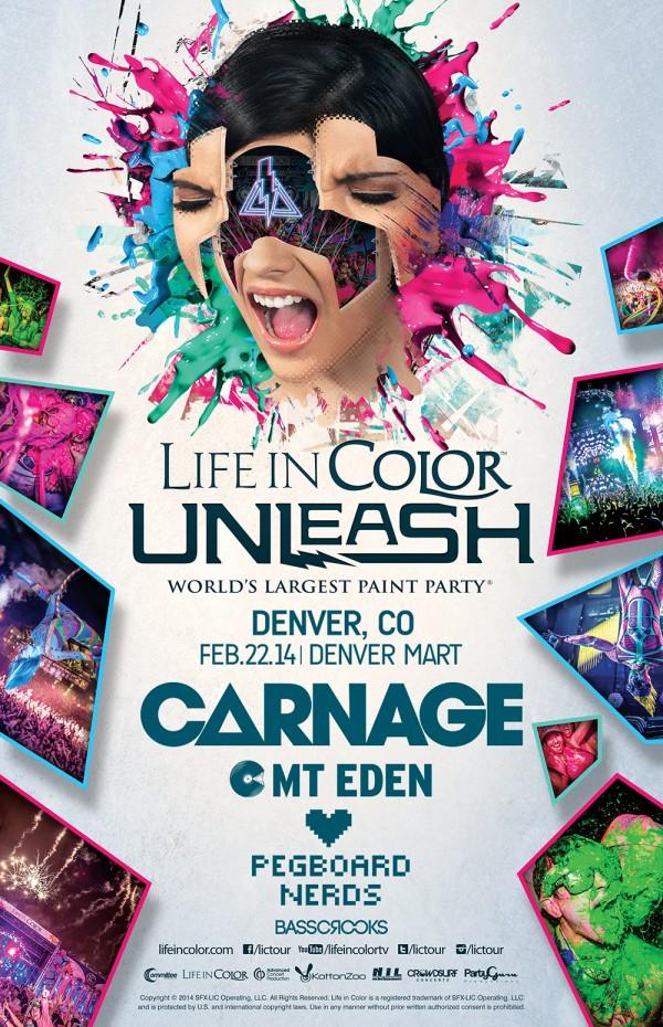 Denver Giveaway] Life In Color – Denver Mart, 2/22 | The